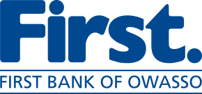 Logo for First Bank of Owasso