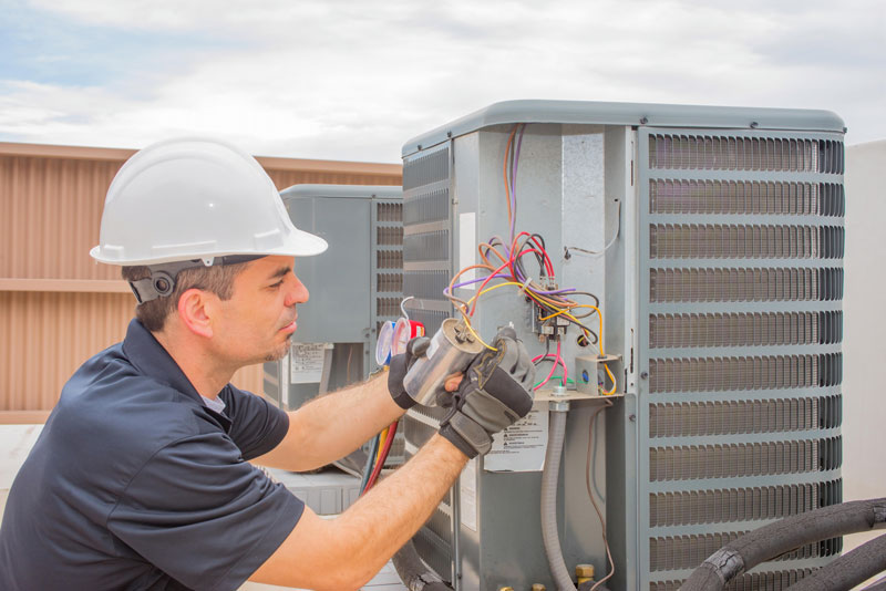 Emergency repair of rooftop HVAC Unit